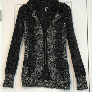 Buckle BKE zip up sweater